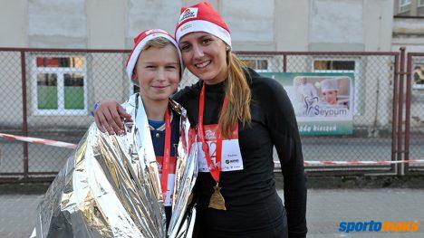 Paulina Górak i jej kolega - motywator